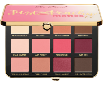 Too Faced Палетка теней Just Peachy Mattes
