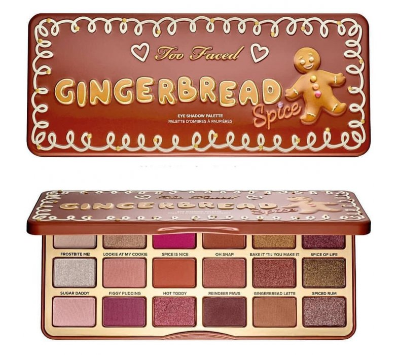 Too Faced Тени палитра Gingerbread Spice фото_1