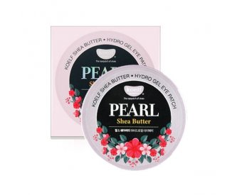 KOELF Гидрогелевые патчи для глаз Pearl & Shea Butter Eye Patch 60шт