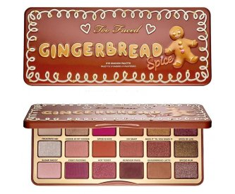 Too Faced Тени палитра Gingerbread Spice